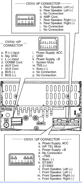 Mazda cq tt3070aa pinout diagram pinoutguide head unit pinout abbreviations cheapraybanclubmaster Images