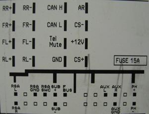 Opel Cdc40 Opera Head Unit Pinout Diagram Pinoutguide Com
