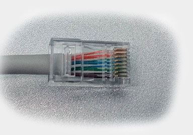Ethernet RJ45 connection wiring and cable pinout diagram @ pinouts.ru