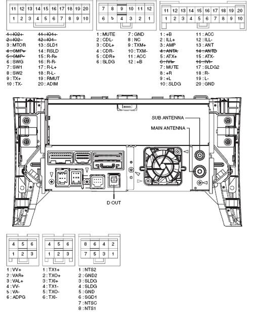 Lexus P6501 Pinout Diagram @ Pinoutguide.com