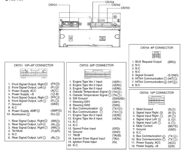 isuzu rodeo wiring schematic toyota w58814 head unit                                            pinouts ru  toyota w58814 head unit                                            pinouts ru