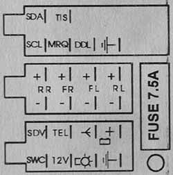 Car Pedal Plate furthermore Audi concert plus pinout furthermore Blank Map Of Uk Regions together with Opel CAR 400 Head Unit pinout also Quadlock Belegung I208010517. on opel radio wiring diagram