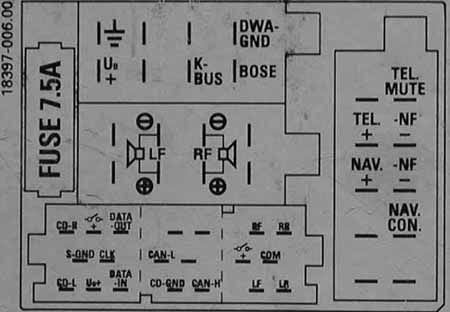 audi chorus (grundig) pinout diagram @ pinoutguide comabbreviations of head unit pinout