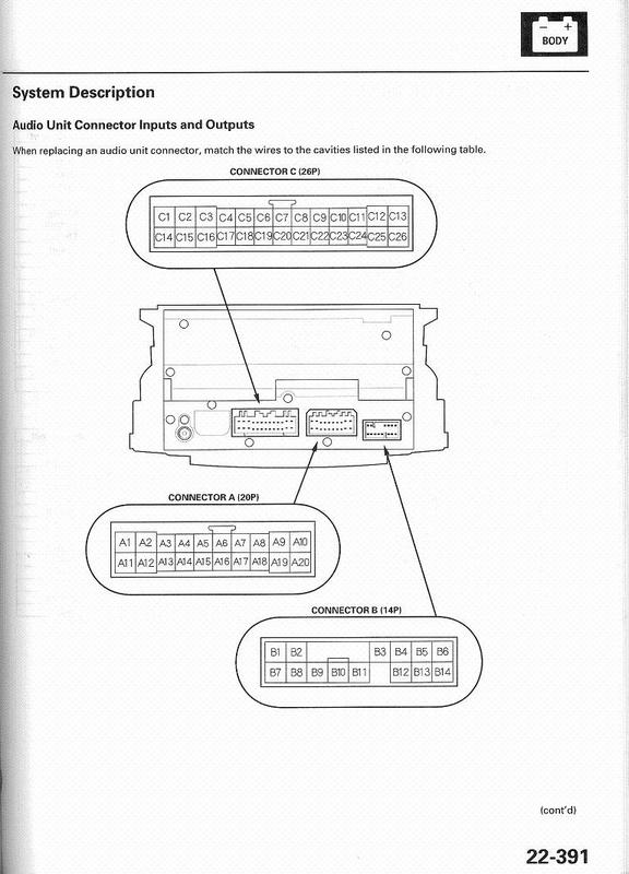 Acura 2005 Tl Head Unit Pinout Diagram   Pinoutguide Com