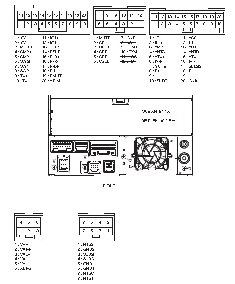 Toyota P6502 Head Unit Pinout Diagram Pinoutguide Com