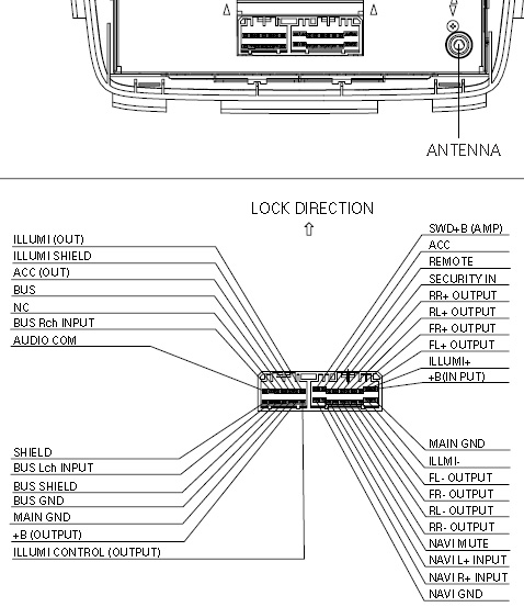 Bose Amp 3600 Wiring Diagram: Acura FX-MG6006ZH BOSE changer pinout diagram @ pinoutguide