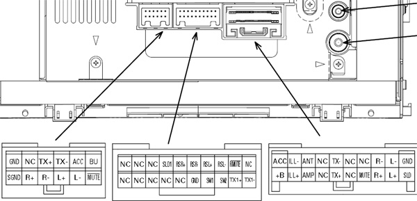 Toyota P3914 Head Unit Pinout Diagram   Pinoutguide Com