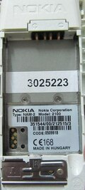 5 pin Nokia 2100 cell phone proprietary photo