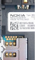 9 pin Nokia 7600 cell phone proprietary photo